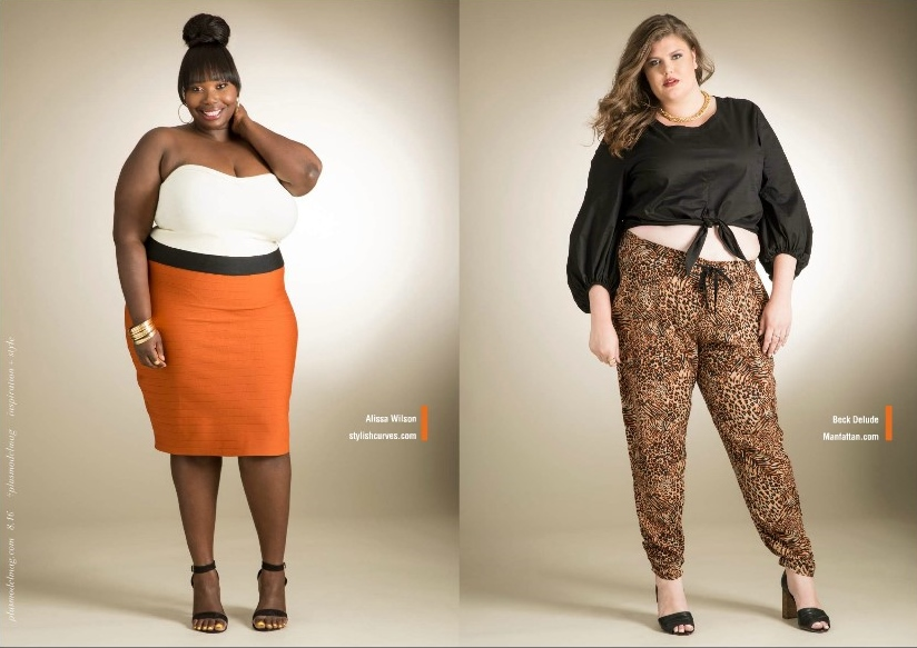 50fe502b397 Plus Size Bloggers Featured In Ashley Stewart Summer Campaign With ...