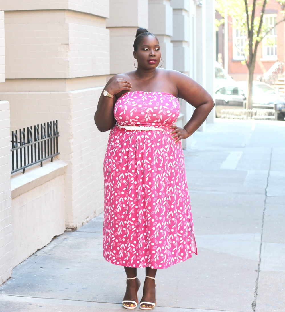 Lane Bryant Strapless Dress no jacket final 4