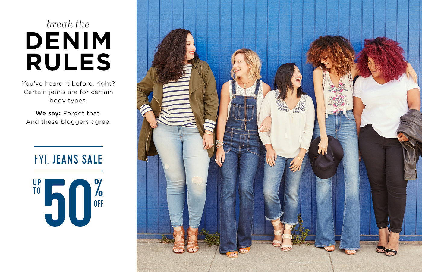 Old Navy Denim Campaign