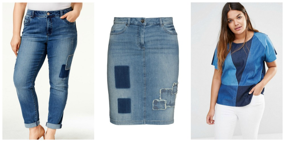 Plus size denim trends 1