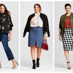 Who What Wear X Target Plus size fall collection