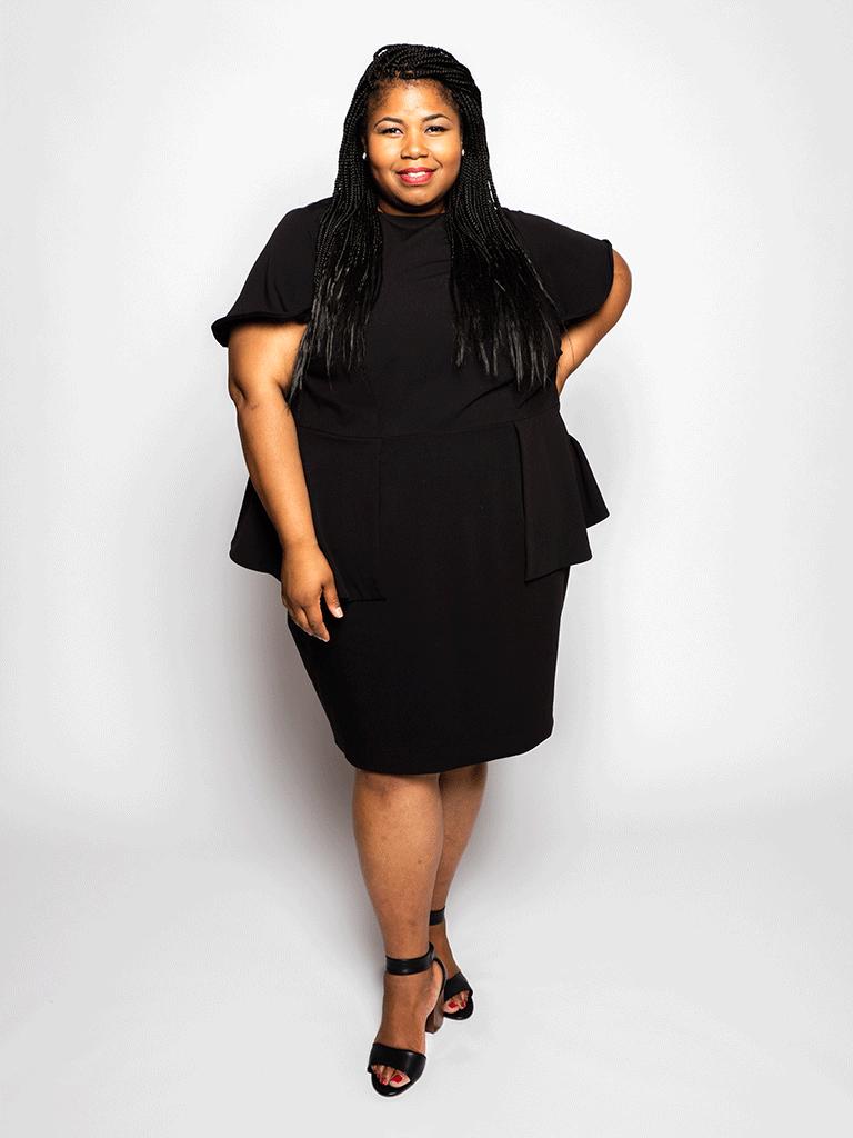 Plus size merk Elu maakt gebruik van technologie om echte kleding te ontwerpen voor vrouwen met een grotere maat Elu