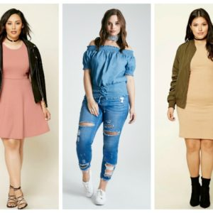 plus size back to school
