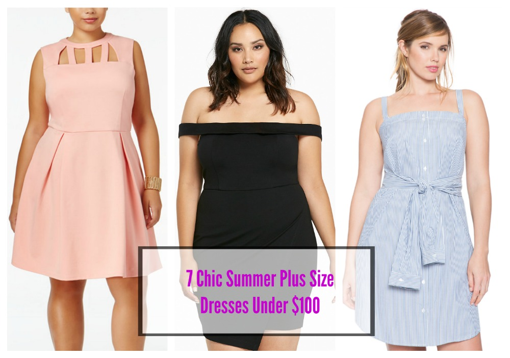 Plus Size Cocktail Dresses Under 100
