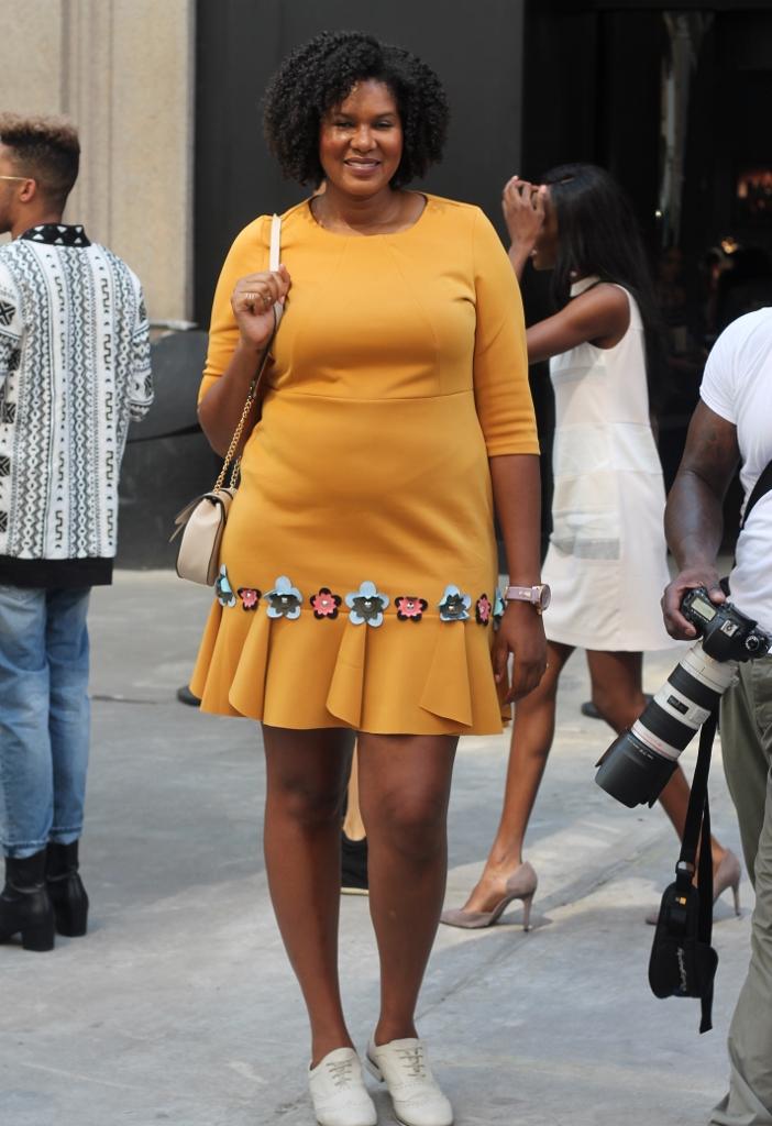 New York Fashion Week Plus Street-stijl Street Style