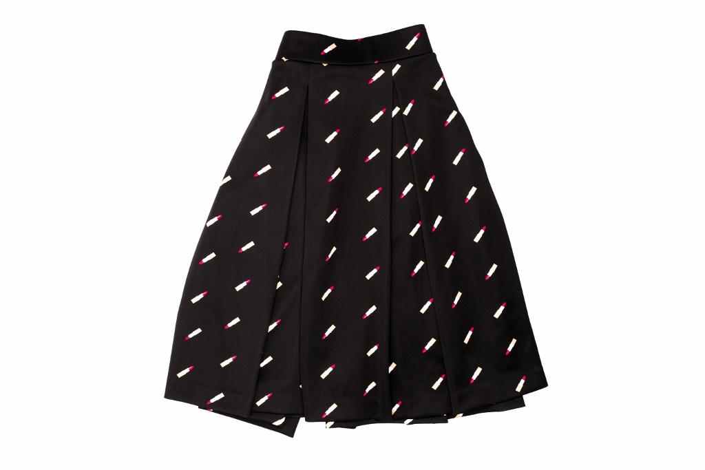 Lipstick Print Skirt (1024x683)