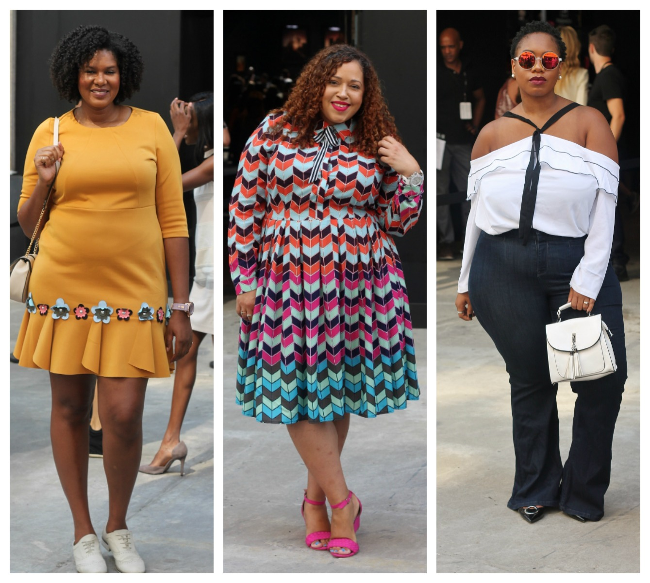 New York Fashion Week Plus Size Street Style Stylish Curves