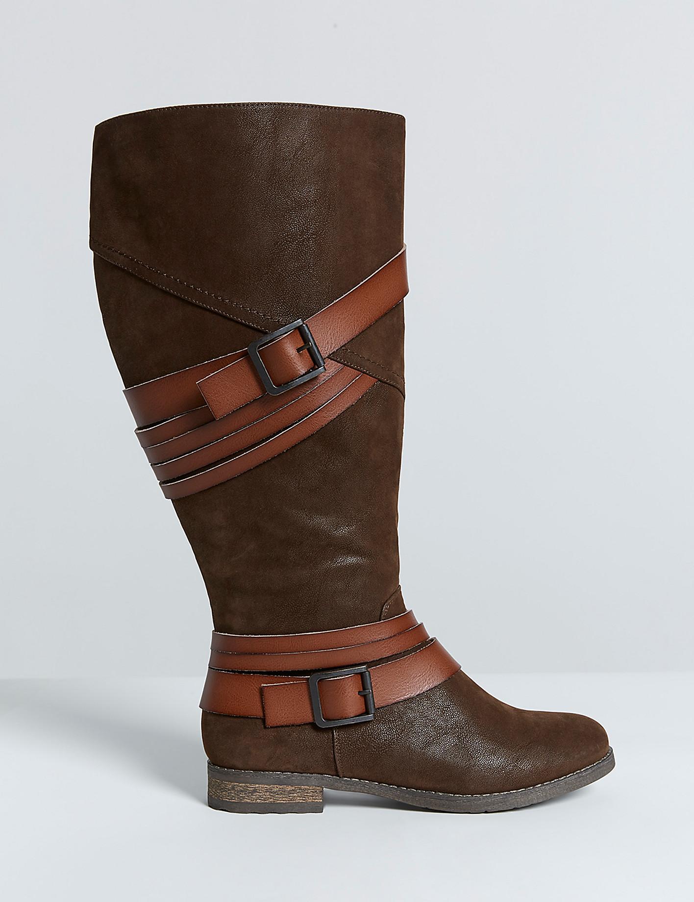 Winkelen voor breed kalf en breed breedte laarzen op Lane Bryant val laarzen