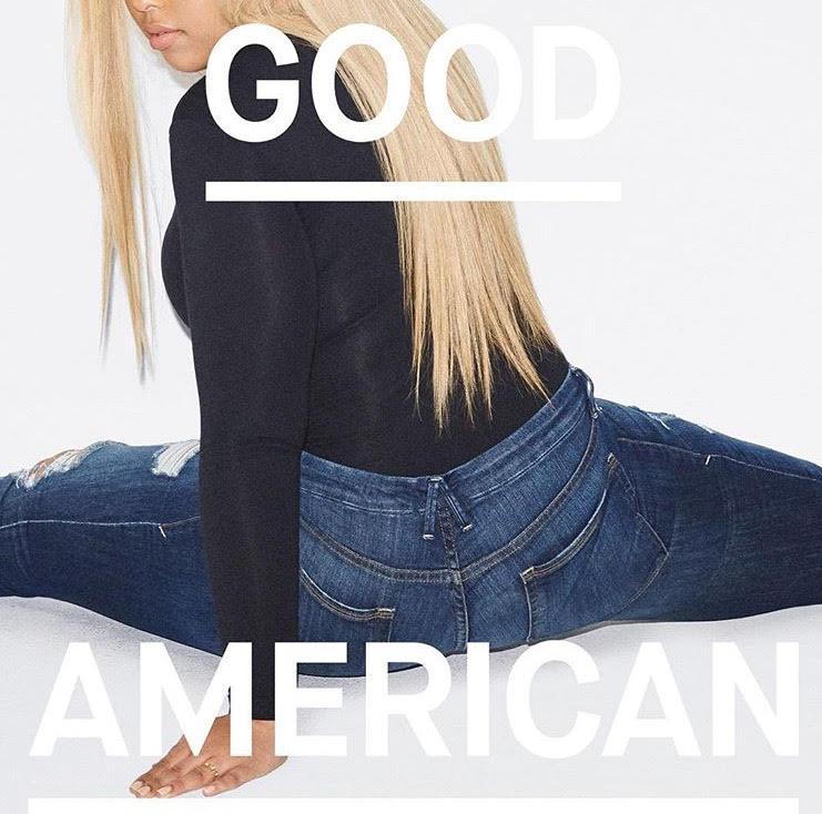 Khloe Kardashians Good American Denim Line biedt extra maten en functies Blogger Gabi Fresh Goed Amerikaans