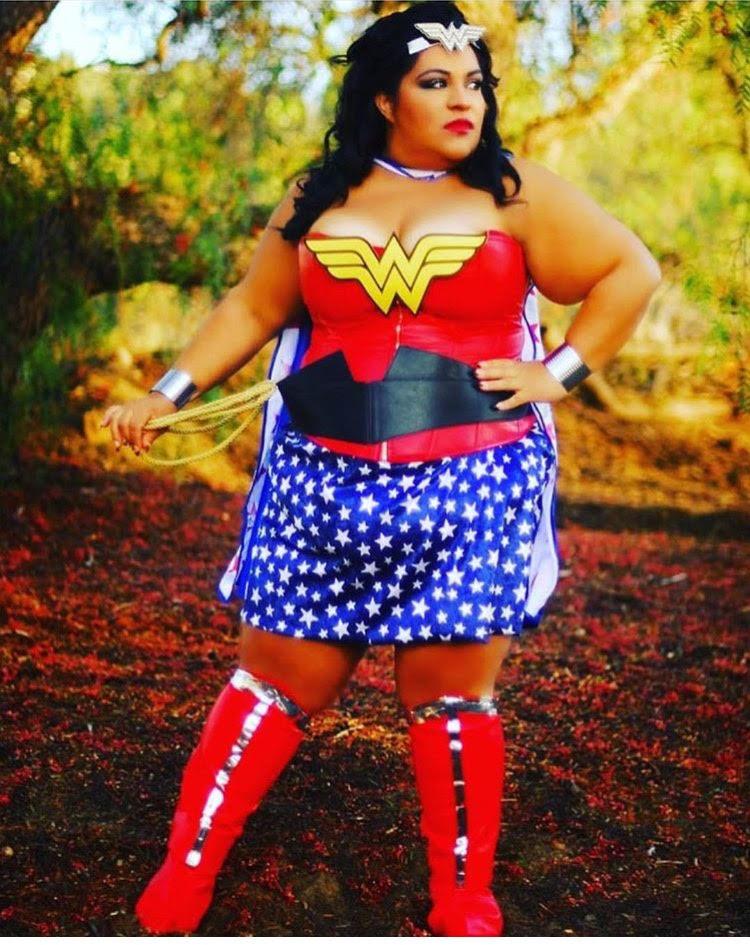 plus size halloween costumes wonder woman ww