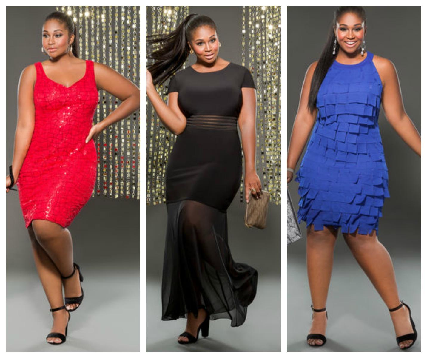 ashley-stewart-plus-size-holiday-dresses