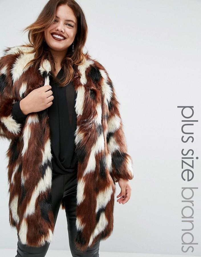 Elvi plus size coats