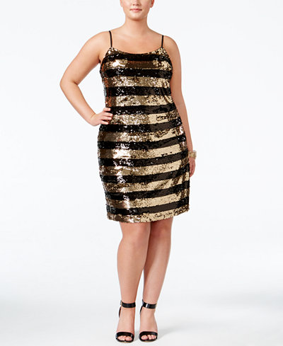 Soprano New Years Eve plus Size Dresses