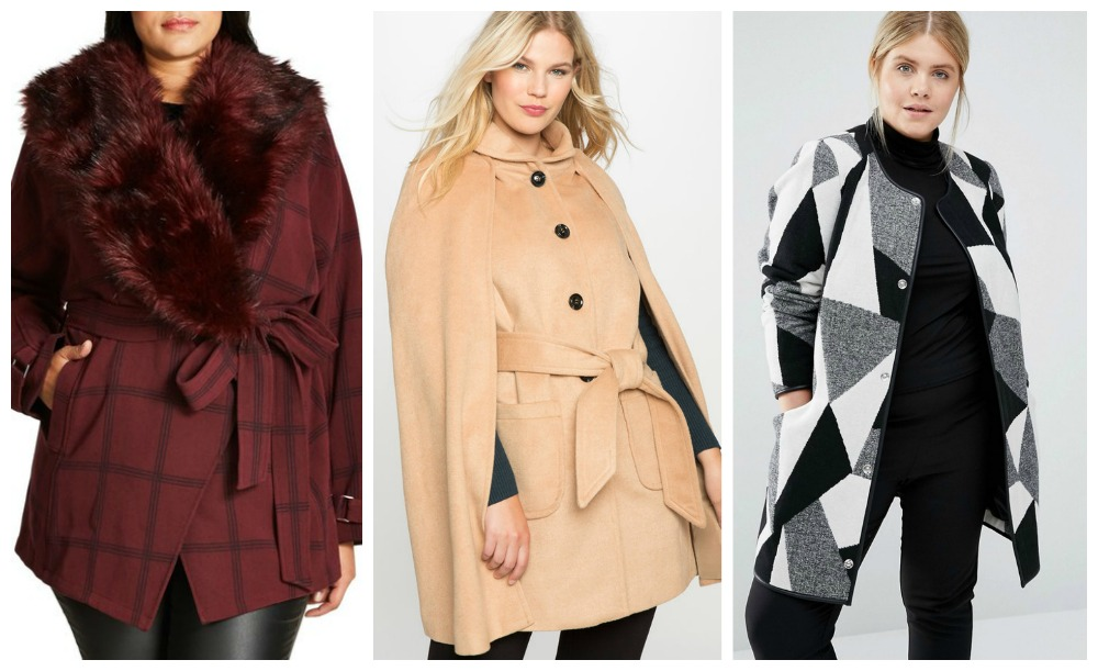 Plus size winter coats