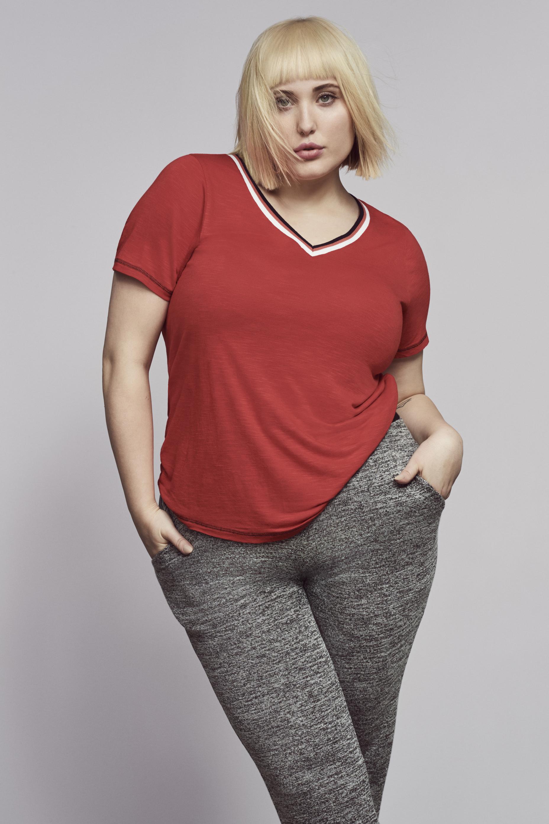 Evans New Activewear Collection Features Hayley Hasselhoff ...