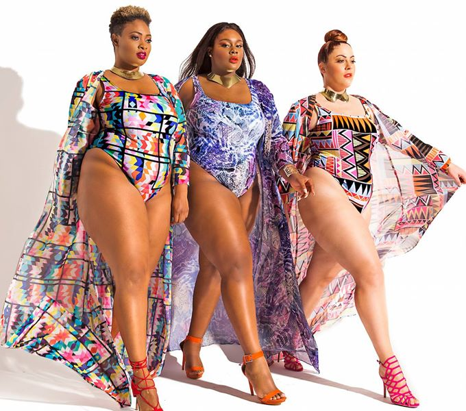 9271a9aad4a70 Monif C. Just Dropped A New Sexy Plus Size Swimwear Collection ...