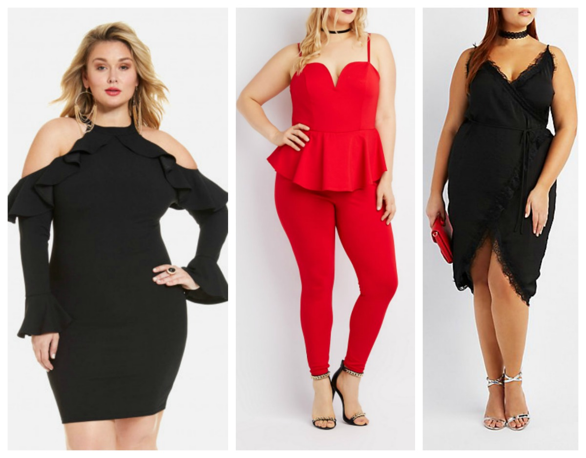 10 Valentines Day Outfits Under $100 | Stylish Curves