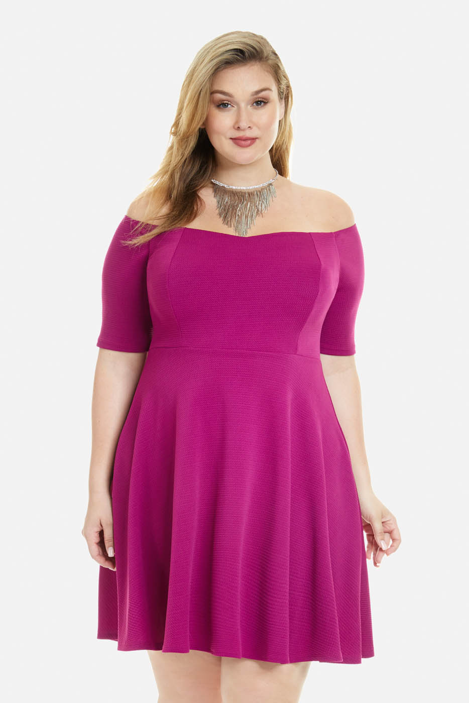 Clarissa Flare Dresss