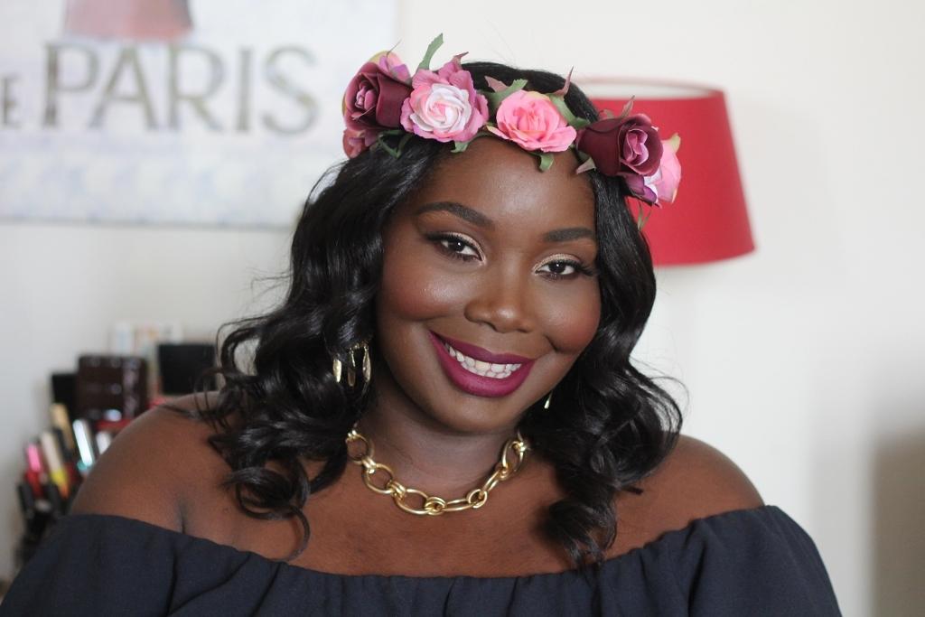 Muziekfestival geïnspireerd haar en make-up charmante charlie
