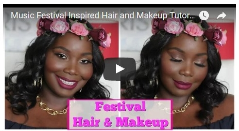 Music Festival Hair and makeup Ideas