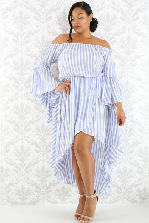 6 Statement Gestreepte jurken met grote maten maken statement maten maken jurken grote gestreepte