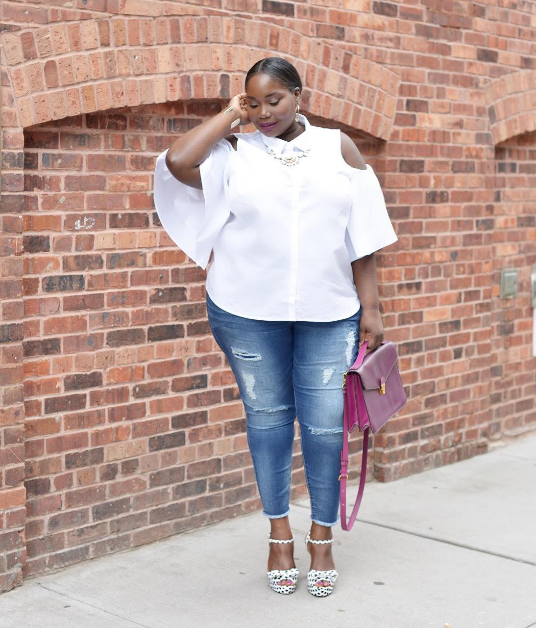 Niet je Basic White Button Down Shirt JCPenney
