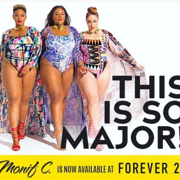 1f0ba5f75a5 You Can Now Shop Monif C. Plus Size Swimwear At Forever 21