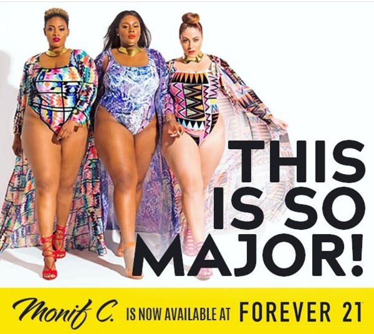 745958da996 You Can Now Shop Monif C. Plus Size Swimwear At Forever 21 | Stylish ...