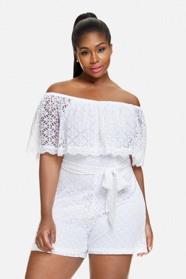 10sexy Summer White Plus Size Dresses Jumpsuits Stylish Curves