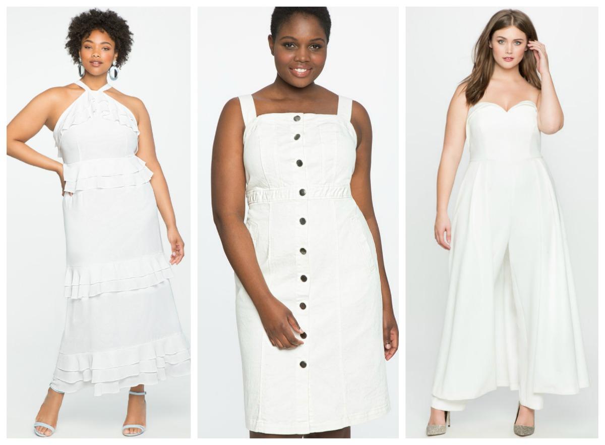 f6e6d4e05238 10 White Plus Size Dresses Jumpsuits To Rock All Summer
