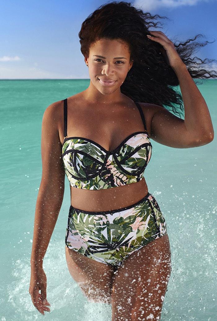 Sexy Plus Size zwemkleding naar rock deze zomer Plus size badpakken