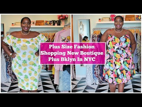 5031d86e07 Video) Shopping New Plus Size Boutique In Brooklyn