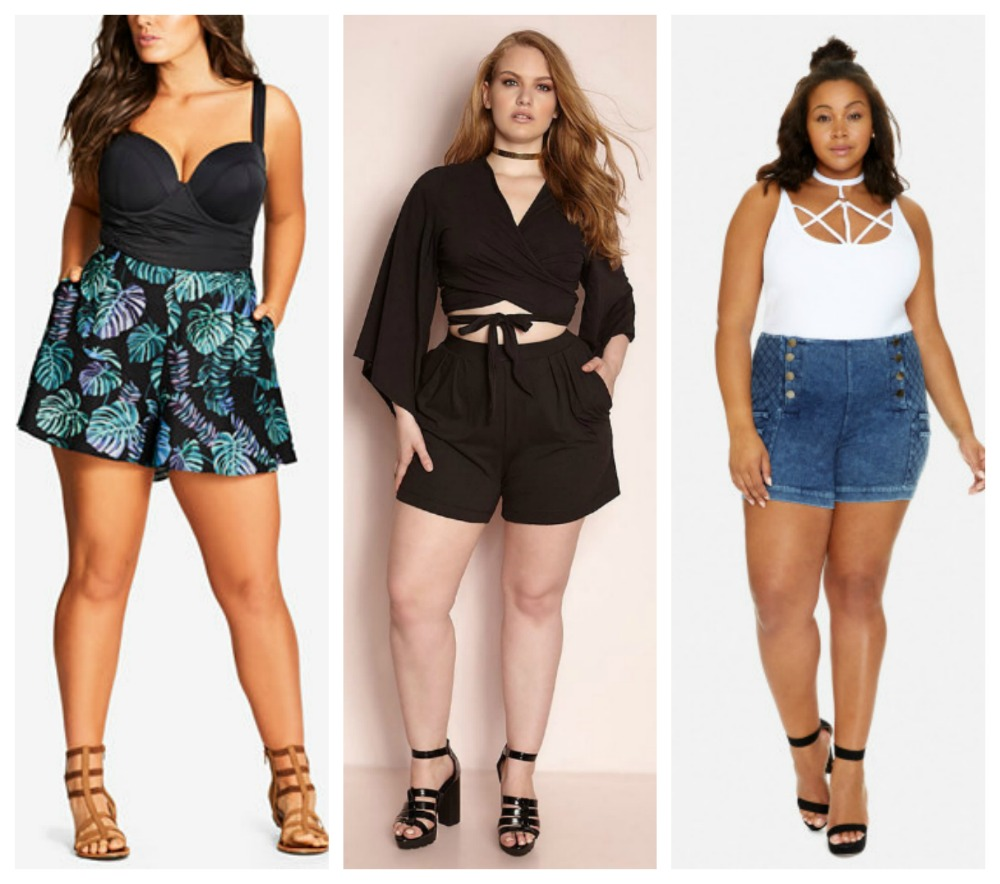 flaunt those thick thighs in a pair of sassy plus size