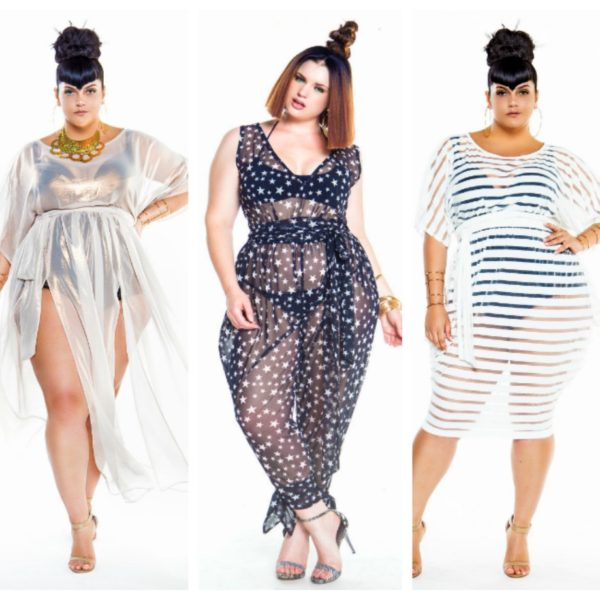 fe0db42d0f Look Poolside Chic In These Plus Size Swim Cover Ups