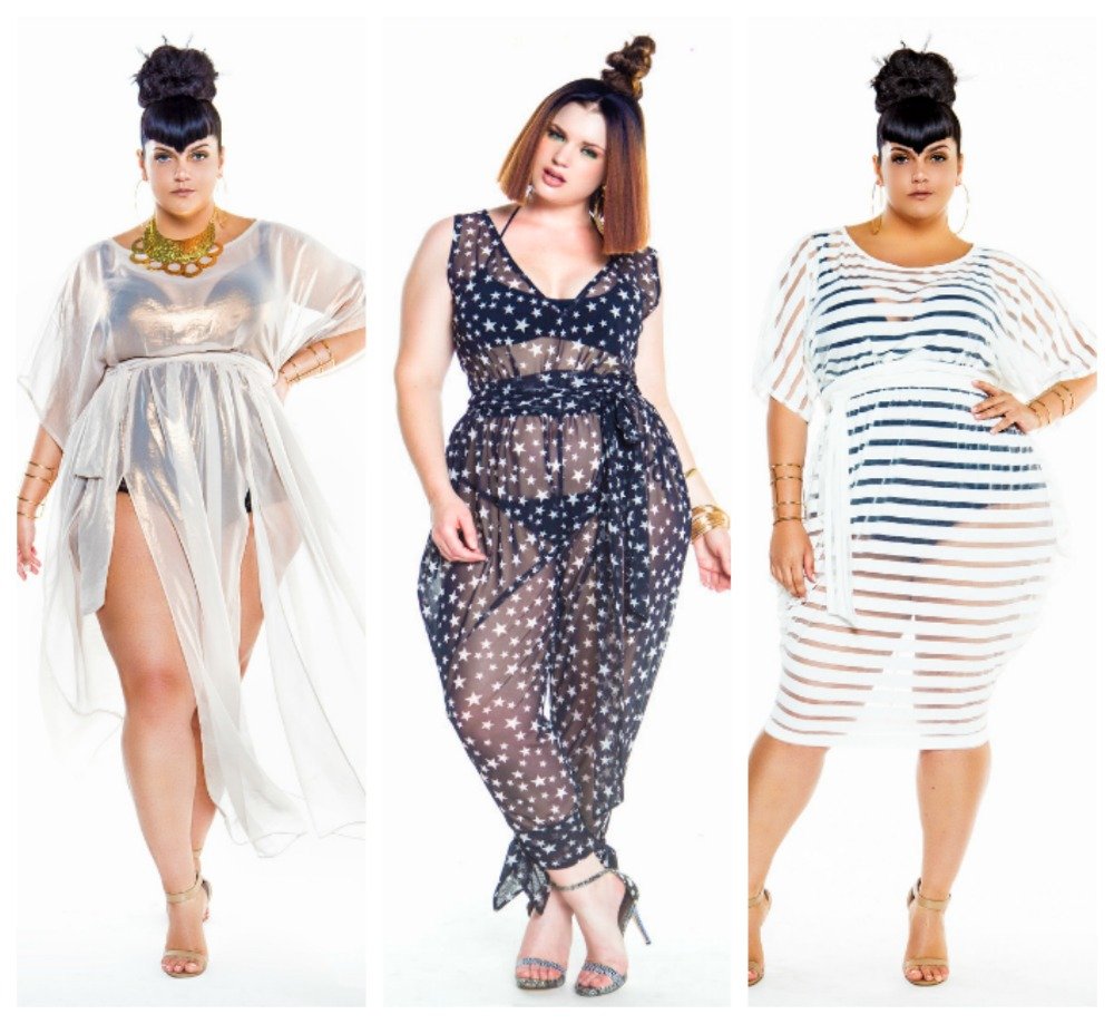 Look Poolside Chic In These Plus Size Swim Cover Ups ...