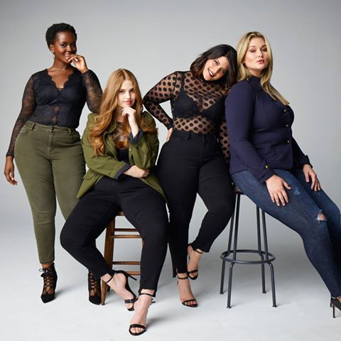 Lane Bryant Plus Size Denim Campaign