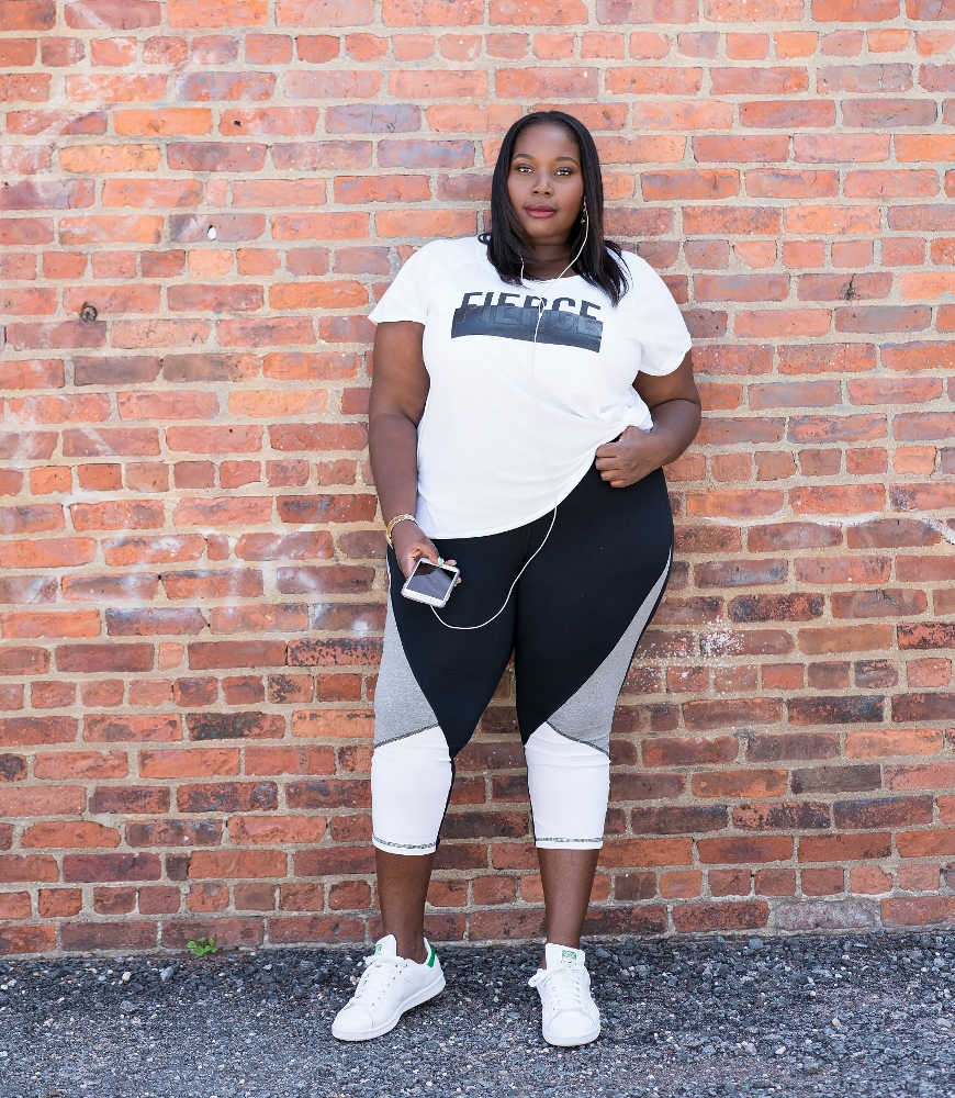 f2f2ae769a5 How To Look Fierce   Stay Active This Fall In Plus Size Workout ...