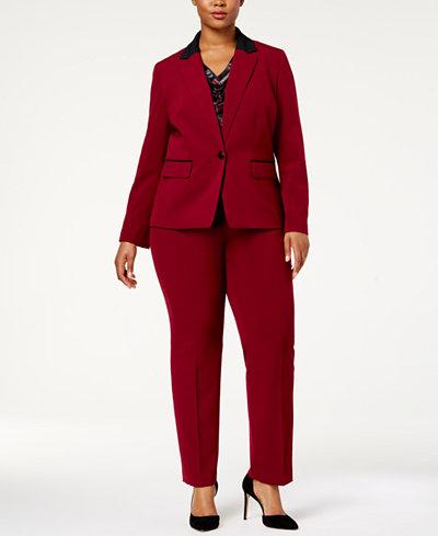 5 Plus size power pantspakken die Hillary Clinton zou goedkeuren broekpak