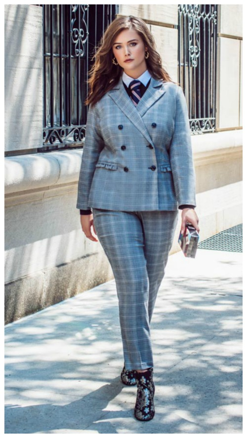 5 Plus Size Power Pantsuits Hillary Clinton Would Approve Of ...
