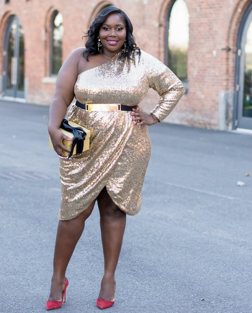 eloquii plus size sequin dresses