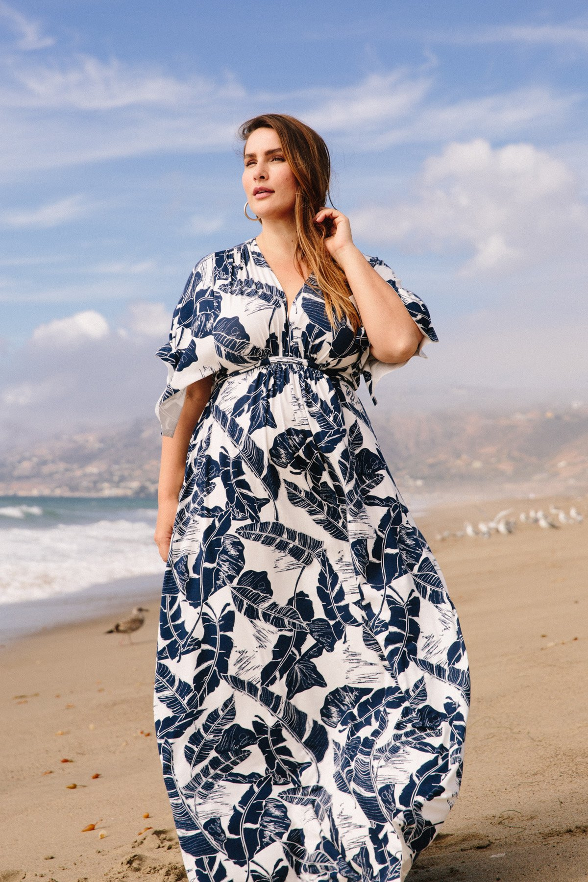 3e441a26fc Rachel Pally s plus size resort collection is perfect to wear now and  later. The collection is a medley of stripe and floral dresses mixed in  with deep dark ...
