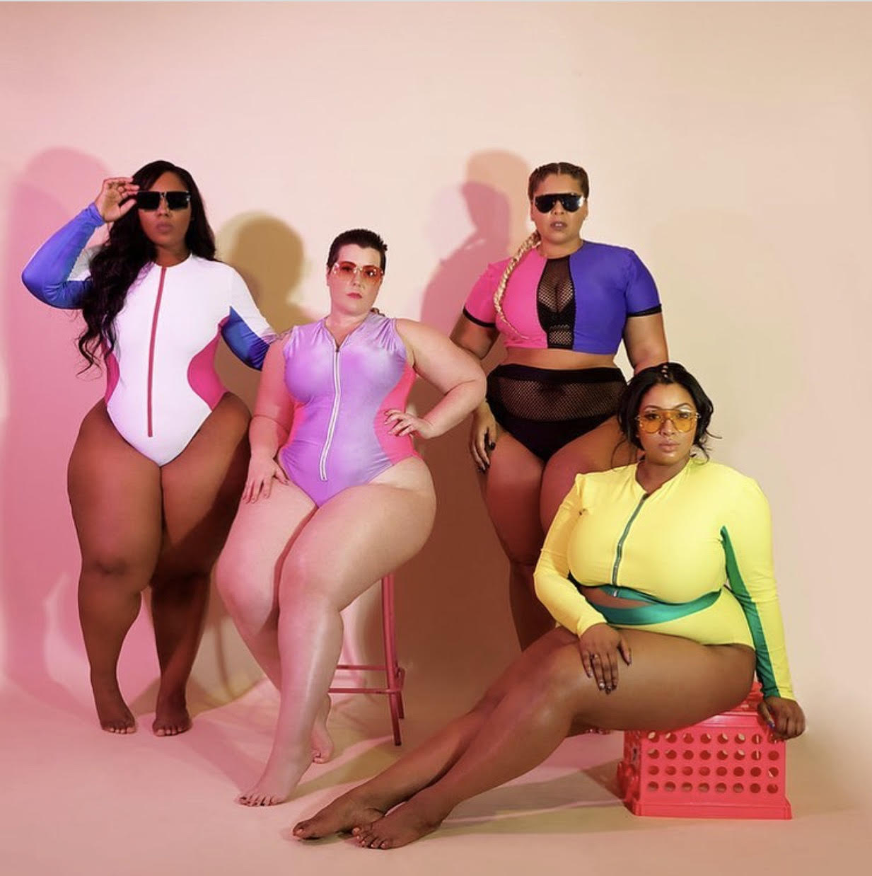 turn heads at the beach in diva kurves swim thick 2018 collection