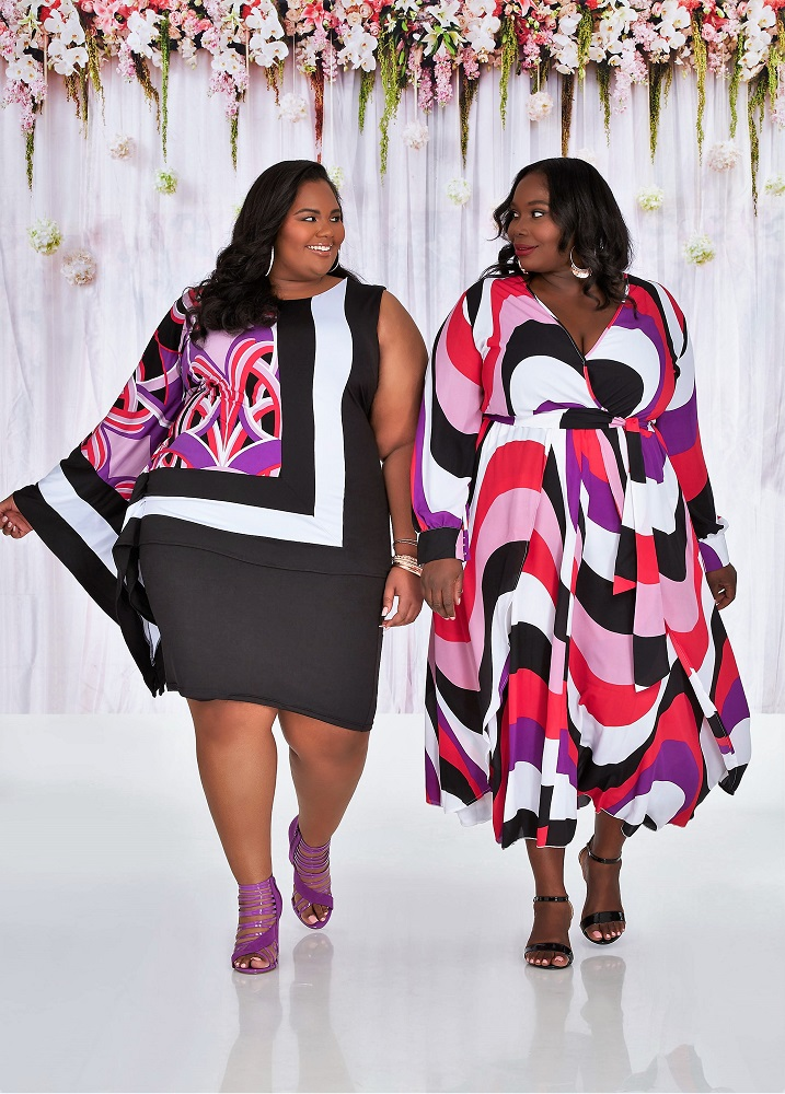 129853c0950 Ashley Stewart Just Dropped A Smoking Hot Spring Collection Featuring Plus  Size Bloggers