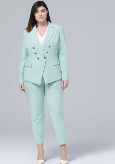 8 Must Have Bright Colored Plus Size Pantsuits For Spring ...