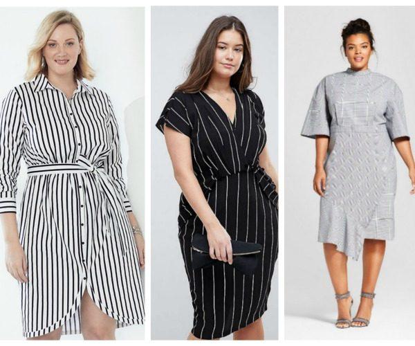 c2fafd3123b 15 Sleek   Chic Spring Plus Size Dresses To Wear To Work