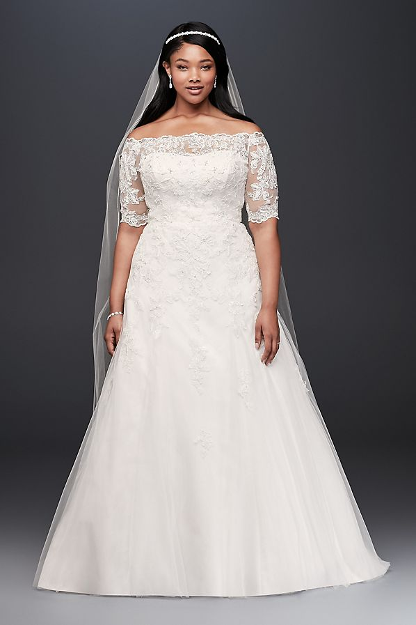 Plus Size Wedding Dresses Inspired By Meghan Markle\'s Royal Wedding ...