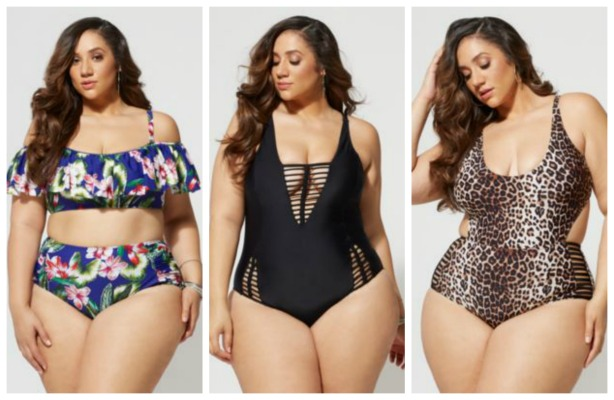 14885ee77772c ... Serving Up Serious Style At New York Fashion Week · Fashion To Figure  Drops New Sexy Plus Size Swimwear