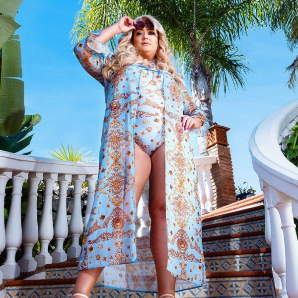 5ee0a6a72ed This Gemma Collins X Boohoo Plus Size Swimwear Collection Is Bold   Sexy