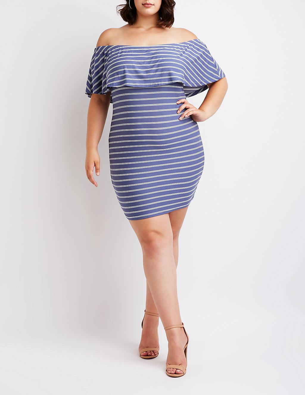 9723a93f2dd Flirty Summer Plus Size Dresses Under  50 From Charlotte Russe