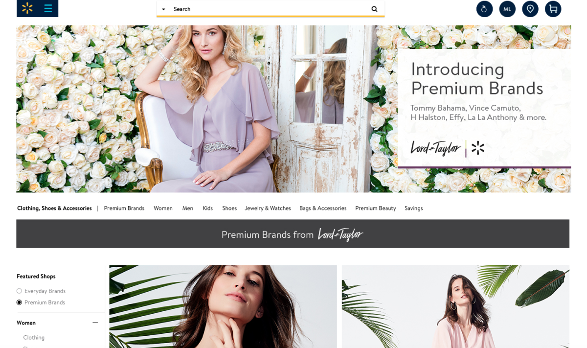 It\'s Official! You Can Shop Lord & Taylor Premium Brands At Walmart ...